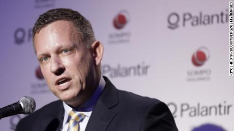 Palantir submits documents to make them public and reveals that he has never made a profit
