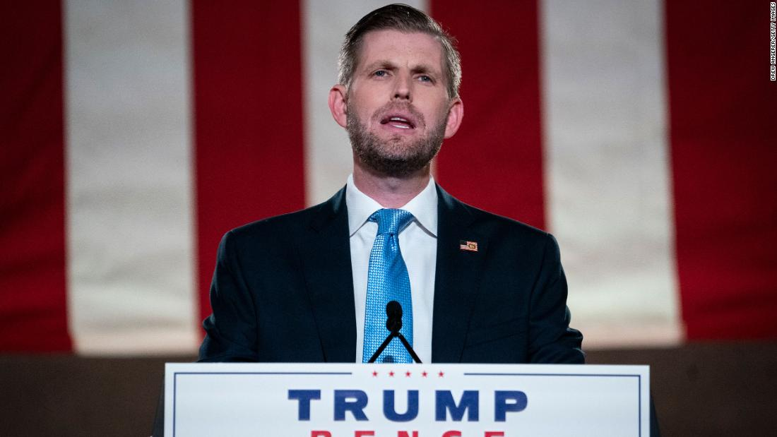 Eric Trump must sit for deposition before election, judge rules