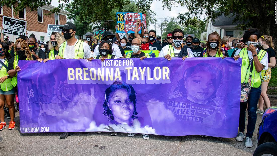 Six officers under internal investigation for actions on night Breonna Taylor was killed