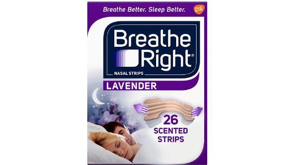 Respira las tiras nasales derechas para dejar de hirer y calmar la lavanda