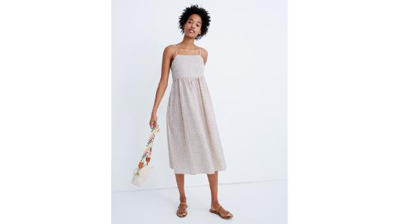 Cami Tie-Strap Sundress in Bright Buds