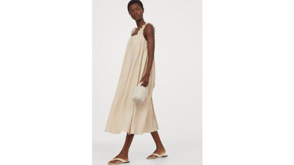Bow-Detail A-Line Dress
