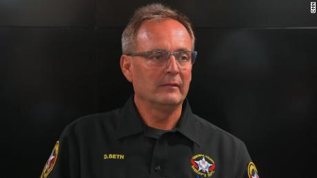 Kenosha County Sheriff David Beth