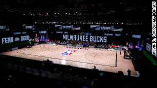 Athletes across US sports take a stand, as games are called off in solidarity with Bucks' boycott