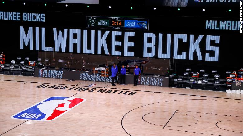 Milwaukee Bucks boycott NBA playoff game against Orlando Magic - CNN