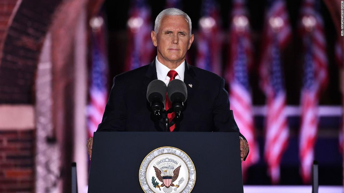 Pence reinvents Trump's presidency on a disorienting night of crises