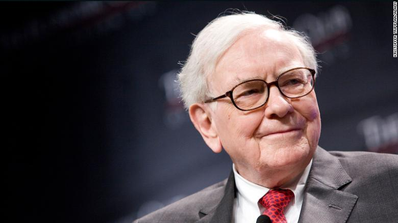 Warren Buffett, the chairman and CEO of Berkshire Hathaway, attends an event in Washington, DC, in 2012. He is celebrating his 90th birthday this year.