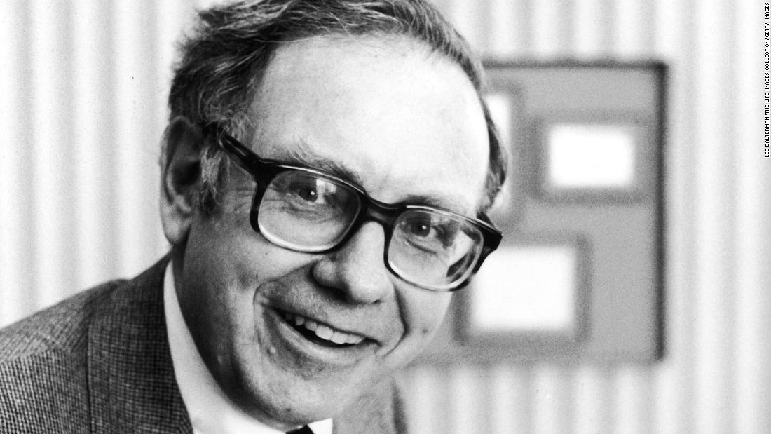 Buffett poses for a photo in 1980.