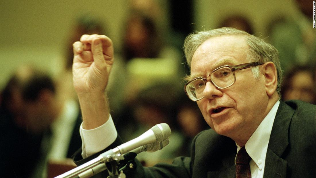Buffett testifies before a House subcommittee after the Salomon Brothers investment bank was caught in a treasury bond scandal in 1991. Buffett took over as the company's chairman of the board to guide it out of troubles with the Federal Reserve System.