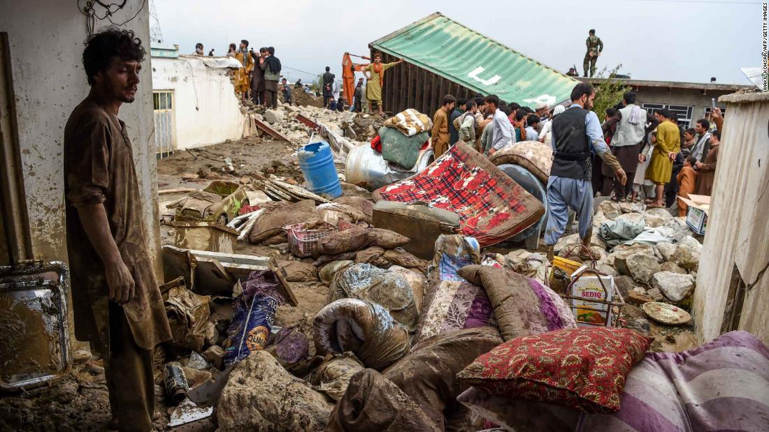 Afghanistan floods kill dozens with many still missing – CNN