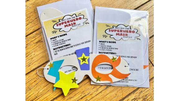 LittleBellaBoutique1 Make Your Own Superhero Mask Kit