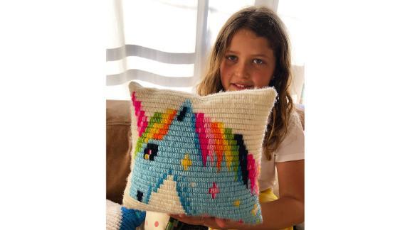 SozoDIY Unicorn Needlepoint Kit for Kids