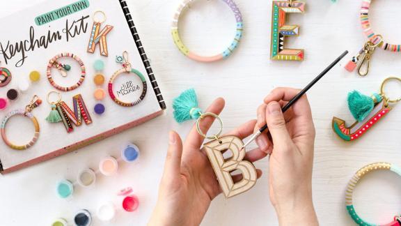 JillMakes DIY Keychain Painting Kit