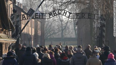 "The Auschwitz Memorial said the posts were ""hurtful"" but that social media users should not be vilified."