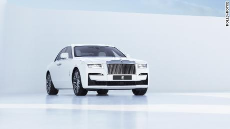 The new Rolls-Royce Ghost has a simpler look that seems inspired by Scandinavian design