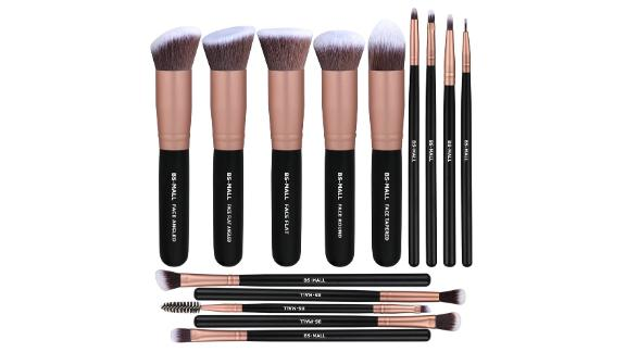 BS-Mall 14-Piece Synthetic Makeup Brush Set
