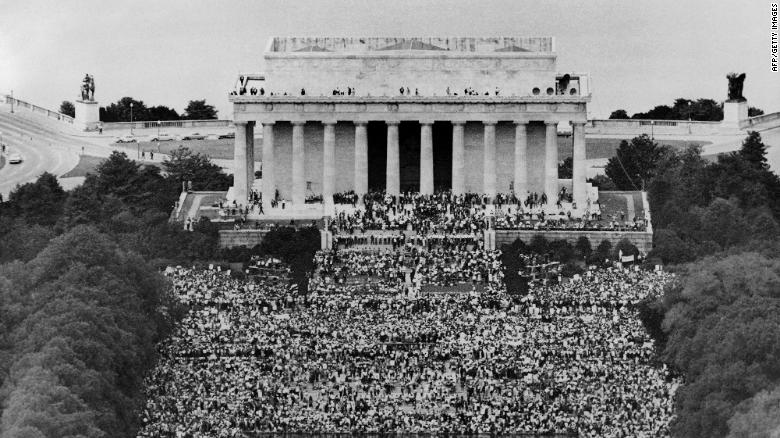 Activists gather for another March on Washington, 57 years later