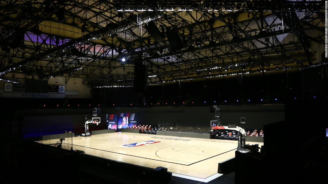 NBA, players say games will resume on Saturday and arenas can be used for voting