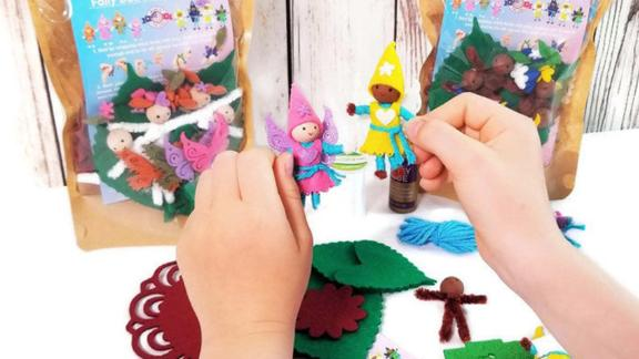 WildflowerToys Fairy Doll Kit
