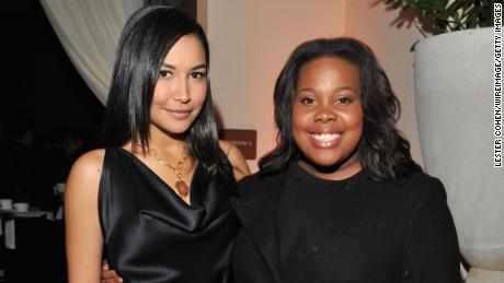 Naya Rivera tribute: Amber Riley honors her friend on 'Jimmy Kimmel Live'