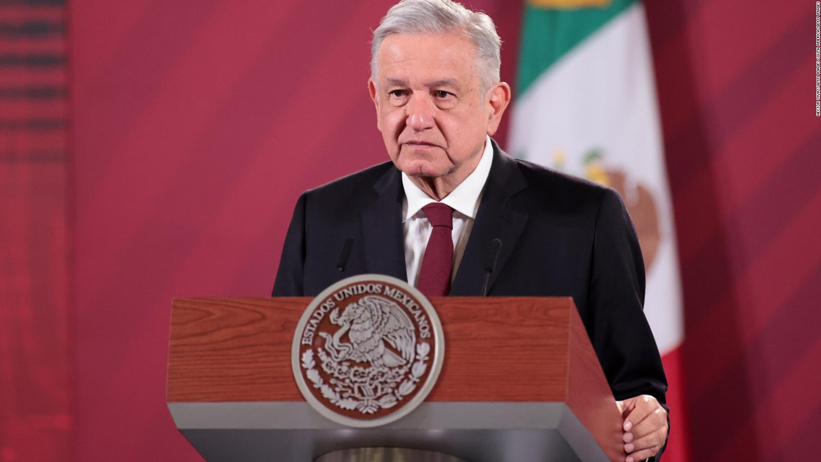 Mexican President Andres Manuel Lopez Obrador tests positive for Covid-19 - CNN