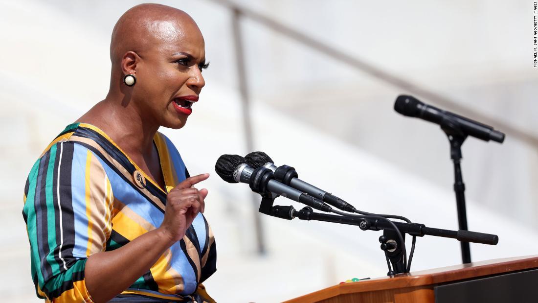 Rep. Ayanna Pressley launches policy pledge to help progressive movement