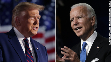 Biden hits Trump where it hurts: in the convention speech ratings