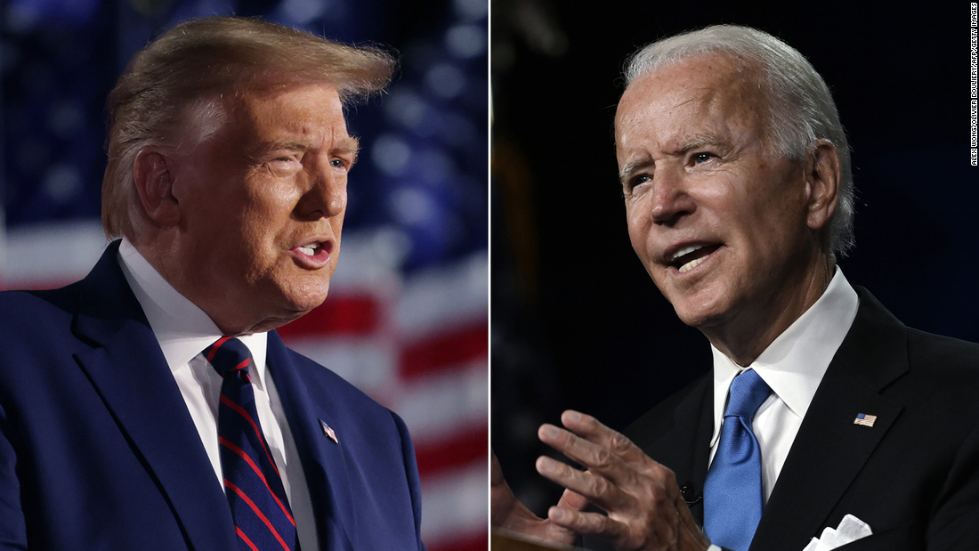 Biden hits Trump where it hurts: in the convention speech ratings – CNN