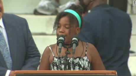 MLK's granddaughter: We will fulfill my grandfather's dream
