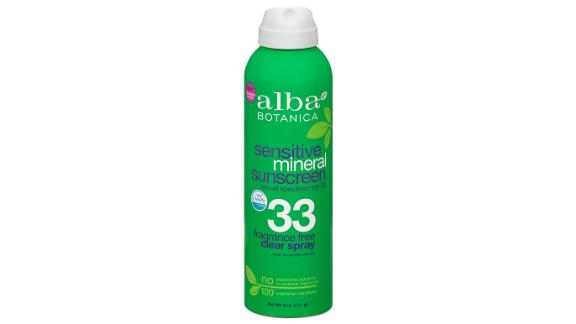 Alba Botanica Fragrance-Free Sensitive Mineral Sunscreen