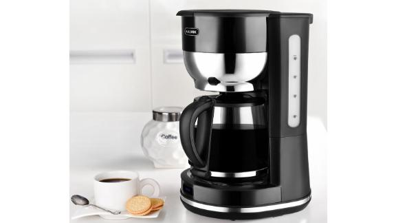 Kalorik Retro 10-Cup Black Drip Coffee Maker