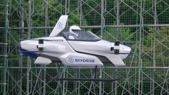 Image for Japanese company successfully tests a manned flying car for the first time