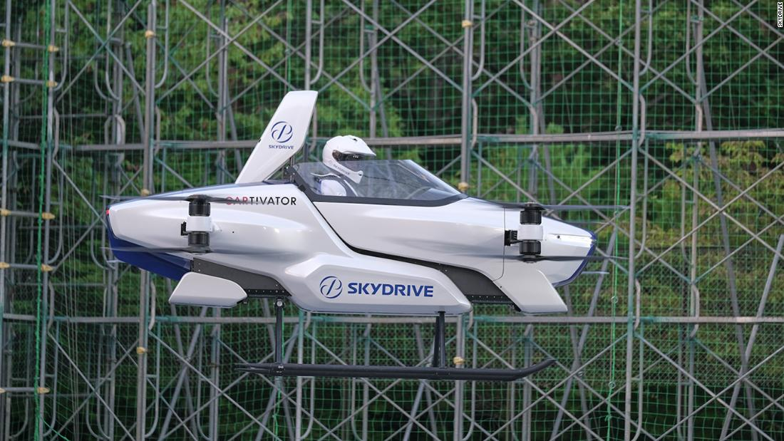 See flying car successfully tested in Japan