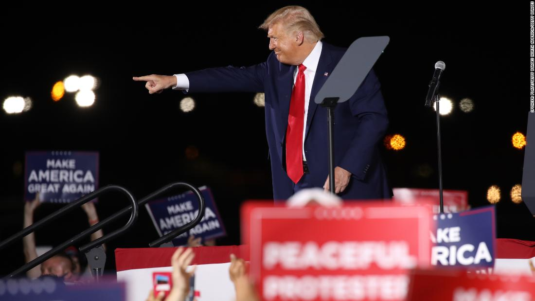 Trump bars 'propaganda' training sessions on race in latest overture to his base - CNN