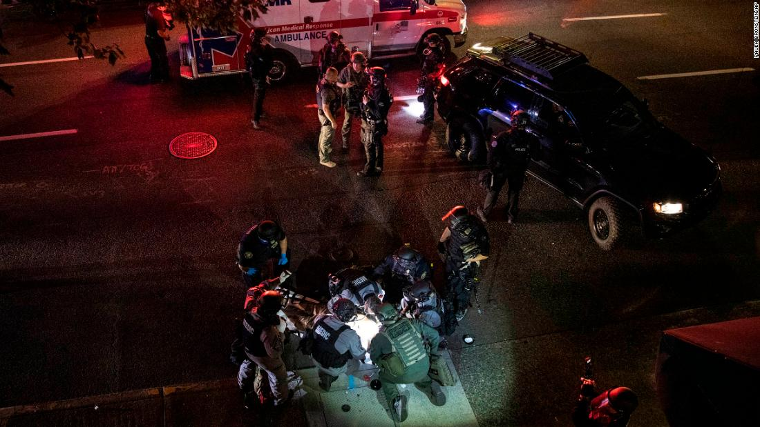 Portland protest shooting death: Here's what we know thumbnail