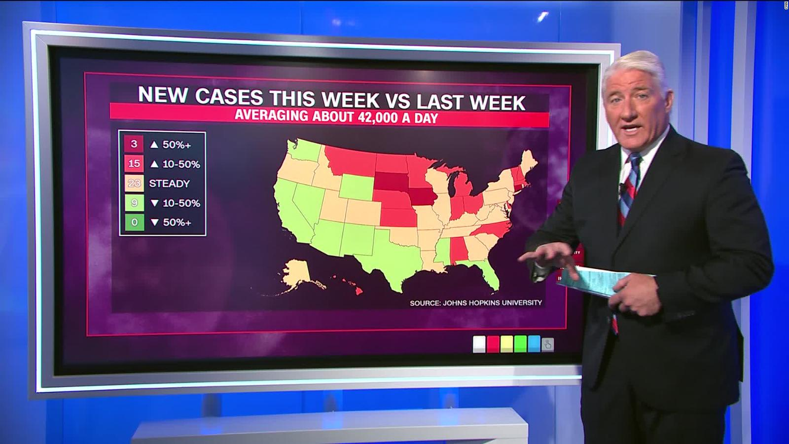 The Us Just Topped 6 Million Coronavirus Cases In About 7 Months What Happens Next Is Up To You Birx Says Cnn The hubs will be based in venues including sports centres and london's. john king breaks down latest coronavirus numbers