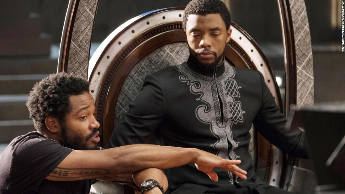 Ryan Coogler 'Black Panther' director pays tribute to Chadwick Boseman – CNN