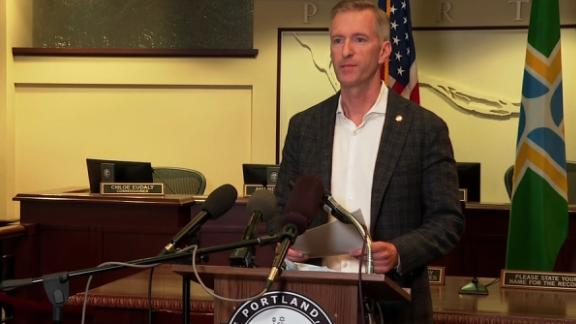 Image for Portland mayor excoriates Trump: 'It's you who have created the hate'