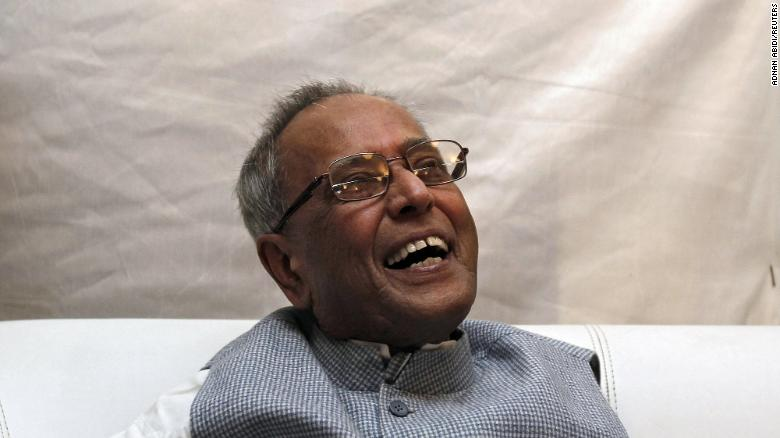 Pranab Mukherjee, pictured in July 2012, was elected seven times as a member of parliament. He served as foreign, defense, commerce and finance minister under various administrations.