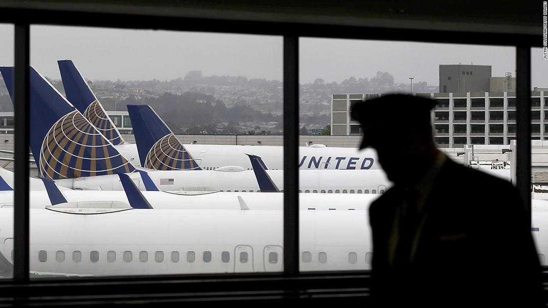United Airlines will furlough 16000 employees – CNN