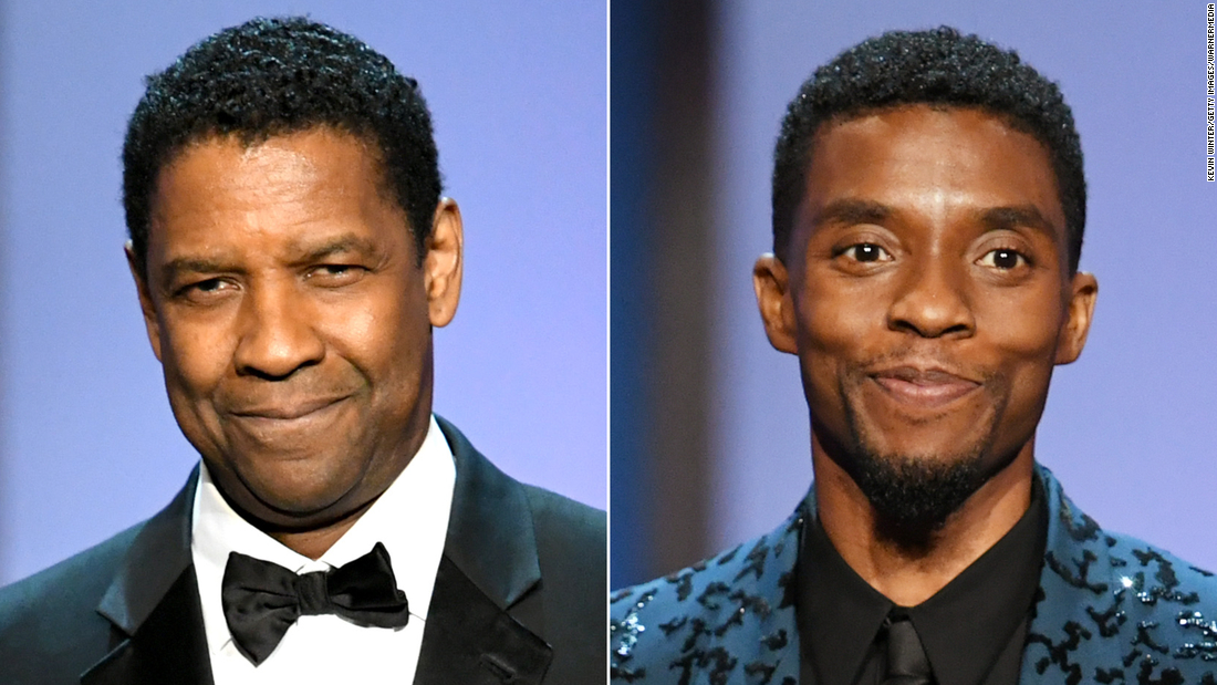Denzel Washington who once paid Chadwick Boseman's tuition pays tribute – CNN