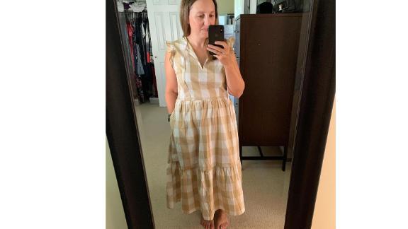 Who What Wear Women's Plus-Size Short-Sleeve Dress