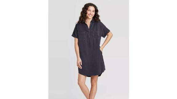 Universal Thread Women's Short-Sleeve Shirtdress