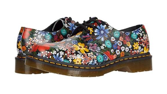 Dr. Martens 1461 Floral Oxford Shoes