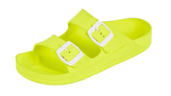 FunkyMonkey Double Buckle Comfort Slides