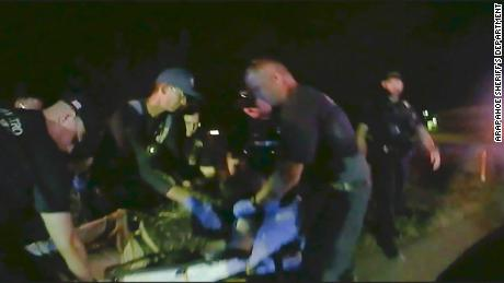 Body cameras captured the encounter between McKnight and first responders.