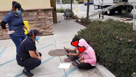 The school sends a hotspot to the California family after students went to Taco Bell for free WiFi