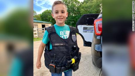 01 boy fundraises for k9 vests
