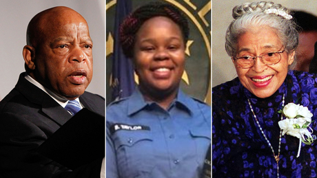 Breonna Taylor, John Lewis and Rosa Parks are among the people Americans have nominated for Trump's garden of American heroes