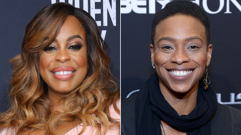 Actress Niecy Nash and singer Jessica Betts.